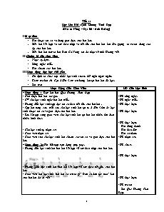 Giáo án Âm nhạc Lớp 1 - Tiết 1 đến 27