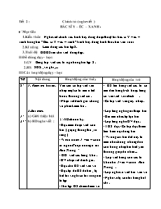 Giáo án Chính tả Lớp 3 - Nghe viết: Bác sĩ Y-éc-xanh