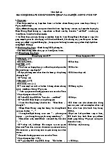 Giáo án Lịch sử Lớp 4 - Bài 14: Cuộc kháng chiến chông quân xâm lược Mông -Nguyên