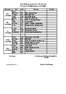 Giáo án Lớp 4 - Tuần 30 (Thứ hai) - Năm học 2015-2016 - Nguyễn Văn Phường