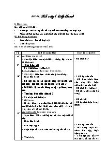 Giáo án Tự nhiên và xã hội Lớp 3 - Bài 44: Rễ cây (Tiếp theo)