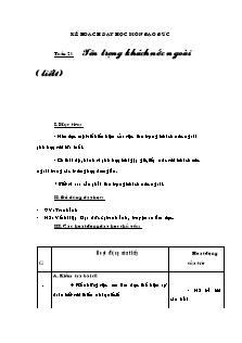 Kế hoạch dạy học môn Đạo đức Lớp 3 - Bài 10: Tôn trọng khách nước ngoài (Tiết 1)