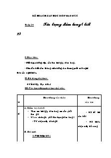 Kế hoạch dạy học môn Đạo đức Lớp 3 - Bài 11: Tôn trọng đám tang (Tiết 2)