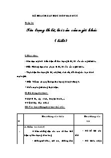 Kế hoạch dạy học môn Đạo đức Lớp 3 - Bài 12: Tôn trọng thư từ, tài sản của người khác (Tiết 1)