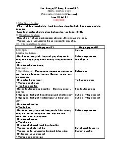 Giáo án Chính tả Lớp 4 - Tuần 23 đến 26 - Năm học 2015-2016 - Châu Anh Thơm
