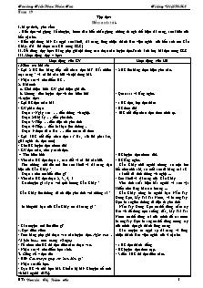 Giáo án Tiếng Việt Lớp 4 - Học kì 2 - Nguyễn Thị Hồng Ân